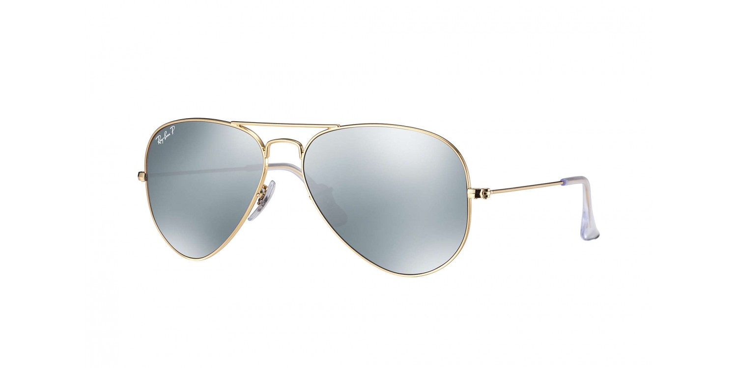 7dd03e241b070 Ray-Ban ® Aviator Large Metal RB3025-112 W3 Polarizada ...