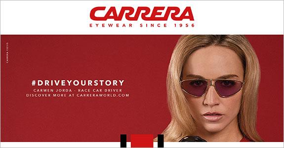 80fcfc9de0 Innovación y deporte se cuelan en la calle y marcan tendencia con la marca  de gafas de sol Carrera. Desde su nacimiento la marca austriaca siempre ha  ido ...