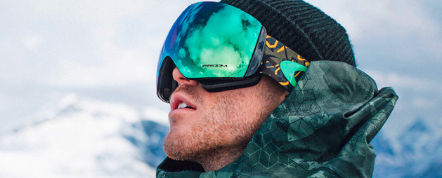 Gafas de sol de hombre para nieve